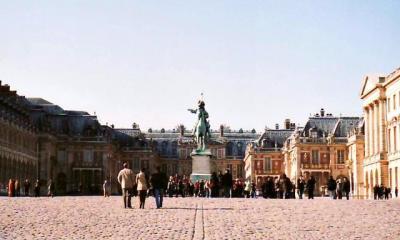 黄葉のパリ 2003 (4)Versailles