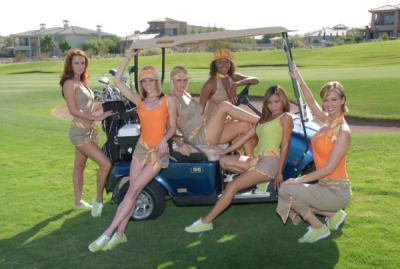 アメリカ・ラスベガス/ラスベガスゴルフ場の新キャディーシステム(リオセコGC)