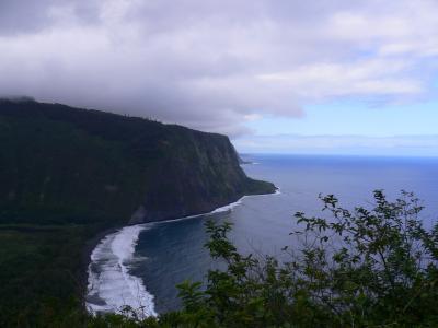 ハワイ島 1日目-?(ワイピオ渓谷)