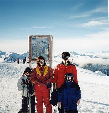 またも、ウィスラー・スキー