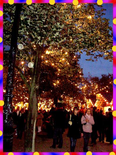 今年のクリスマス市(Marche de Noel)