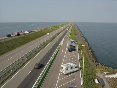 オランダ北海岸沿いをデンマークへ一気走り