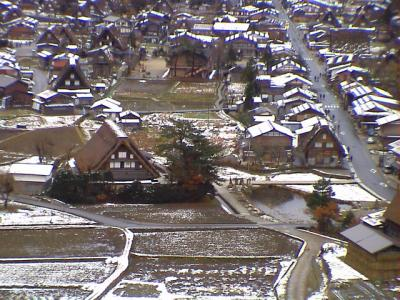 初冬の白川郷