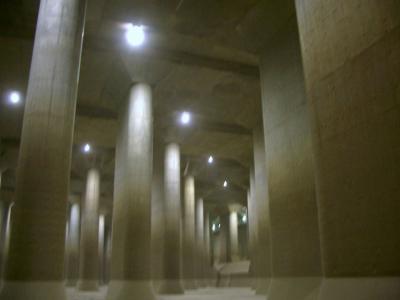 秘密基地と地底神殿