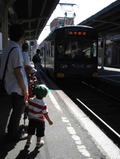 天王寺動物園と路面電車