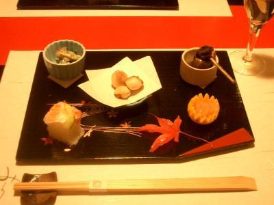 気軽な日本料理をいただきました