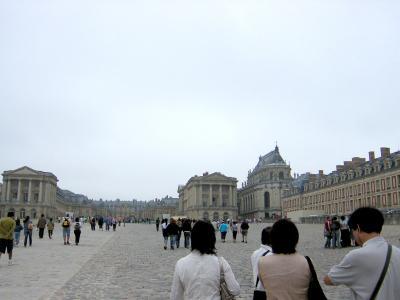 おばQ&おばQ、Parisへ行く☆  第2日目 ヴェルサイユ宮殿♪