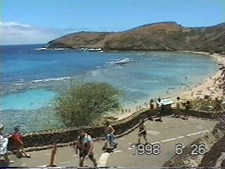 改装前のハナウマ湾(1998年)