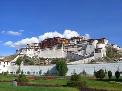 念願のチベットエリア