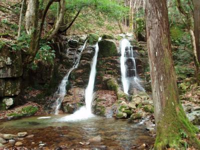 滝めぐりシリーズ11 宍粟市千種町の滝めぐり 寒っ