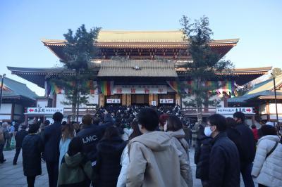 成田市散策(2)・・2020年元旦、成田山新勝寺を訪ねて。