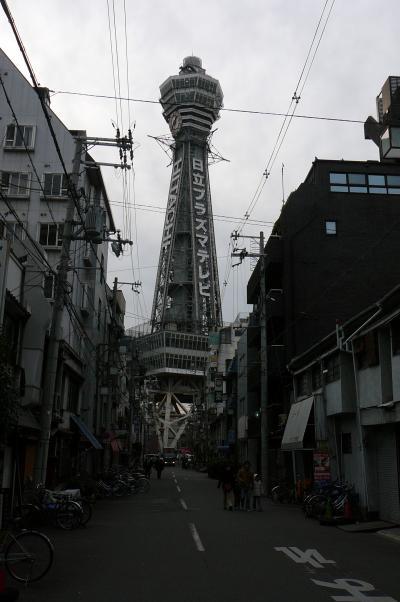 通天閣から大阪市内展望