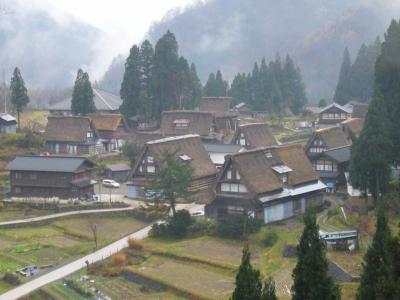 2006年初冬 五箇山へ