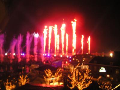 ハウステンボス:カウントダウン! 花火で祝う新しい年【2007】