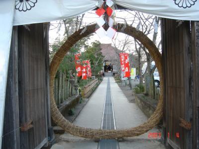 2007年正月小川七福神巡り