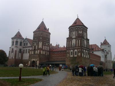 世界遺産旅行記【1】ミール城の建造物群