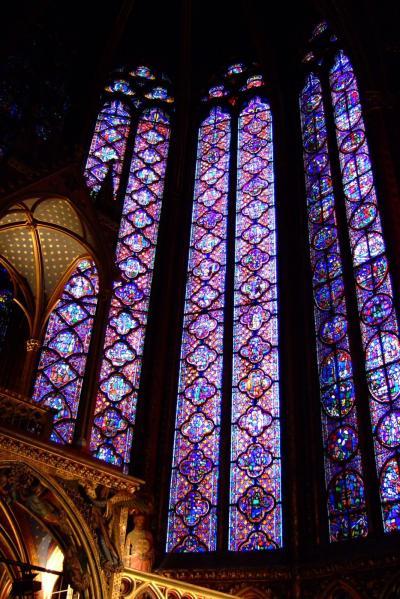 大晦日のパリ ノートルダムとサント・シャペル 中世の美とステンドグラス