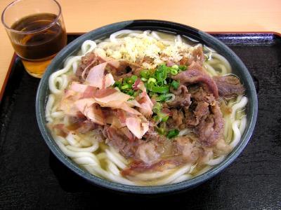 肉うどん(大)480円