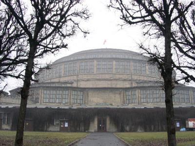 世界遺産旅行記【8】ヴロツワフの百周年記念会館