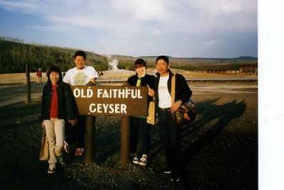 家族で行ったイエローストン国立公園