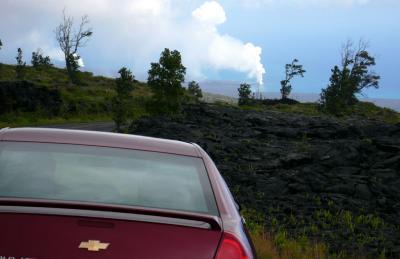 初めてのハワイ with 義父母-2006-/ハワイ島ぐるっと一周&溶岩ウォーク