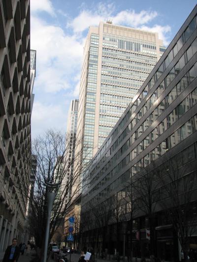 丸の内界隈の高層ビルが見られる風景