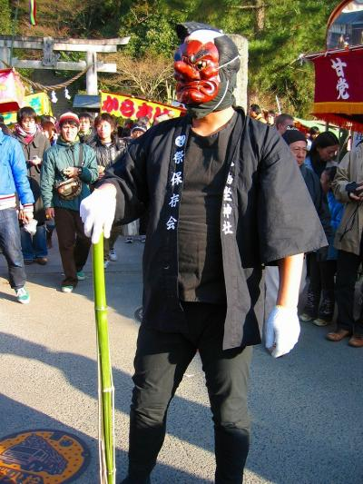 そろそろ 奈良へ? ~奇祭・飛鳥坐神社おんだ祭と甘樫丘東麓遺跡~