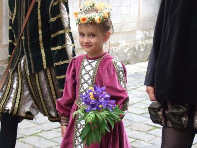 ヨーロッパ3週間の旅16 チェスキークルムロフ・バラ祭のパレード