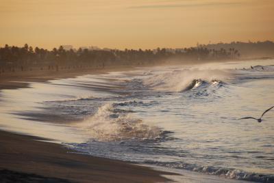 SAN&LAのたび 18 美しい朝・サンタモニカ