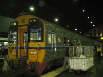 バンコク=>シンガポール列車乗車