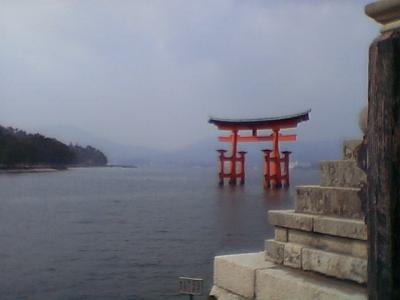 ★なかなか旅に行けない私に代わって・・・千代?の安芸の「宮島」のふたり旅。