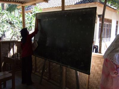 スラムで学ぶ  ロンボク島