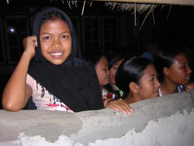 バンジャール(村)で支援  ロンボク島