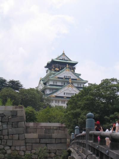 2004年8月8日 大阪城へ
