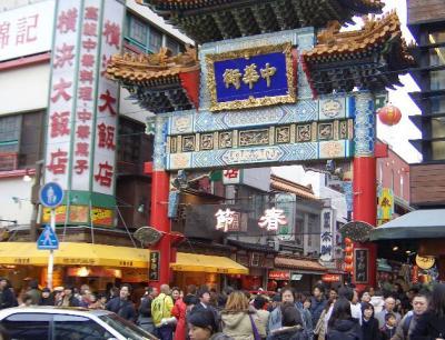 春節の中華街食べ歩き
