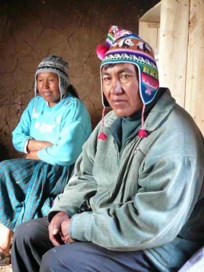 ペルーでお気軽「ウルルン」体験@アマンタニ島