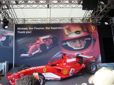 2006年10月F1日本GP観戦in鈴鹿