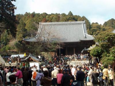 広峰神社~そうめん滝ハイキングと増位山随願寺の鬼追い?