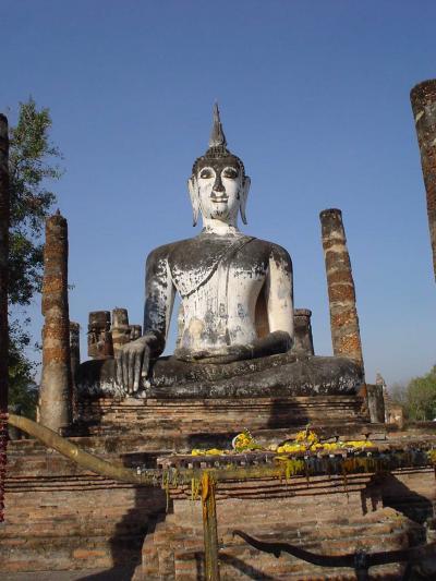 タイ中部4: スコータイ遺跡/歴史公園