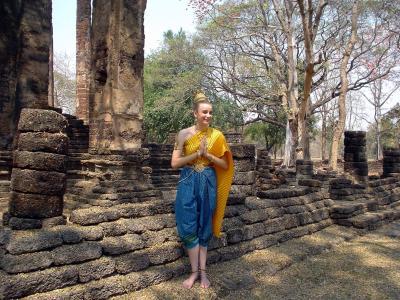 タイ中部5: 「アンコール朝最北の宿駅」  シー・サッチャ・ナーライ