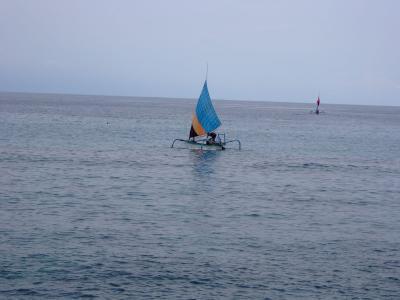 ロンボク島を去りバリ島へ帰る