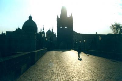 プラハでミッション・インポッシブルの撮影に遭遇