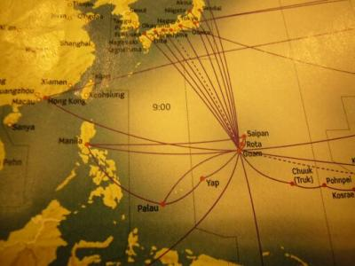 南太平洋のパラオへ(1)