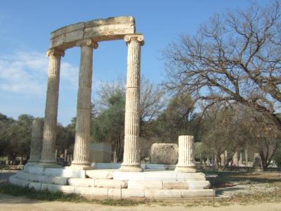 ギリシャ旅行記? オリンピア・バッセのアポロン神殿