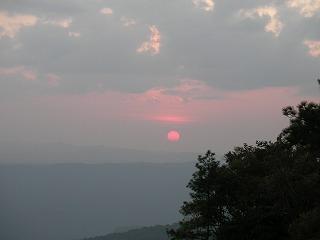 2006年大晦日プークラドゥンで山登り