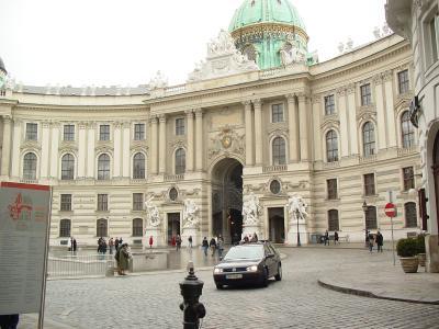 ウィーン後追い日記→ホーフブルグ宮殿?