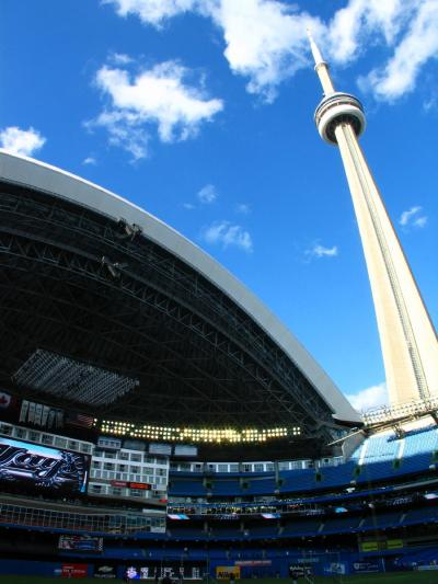13日目 トロント  ハーバーフロント・ブルージェイズ対ヤンキース観戦