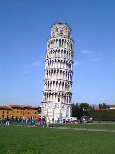 イタリア旅行記 1(ピサ、フィレンツェ)