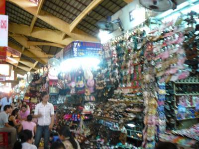 世界遺産アンコールワットとベトナム感動紀行5日間:ベンタン市場
