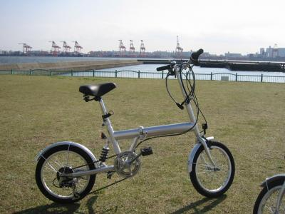 お台場 サイクリング